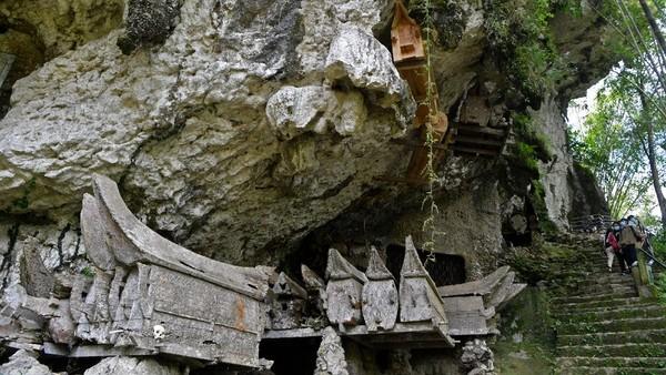 Seperti diketahui, Desa Kete Kesu jadi salah satu desa wisata yang cukup populer di Tana Toraja, Sulawesi Selatan.