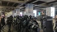 Simulasi di Stasiun MRT Lebak Bulus, 1 Teroris Ditembak Mati