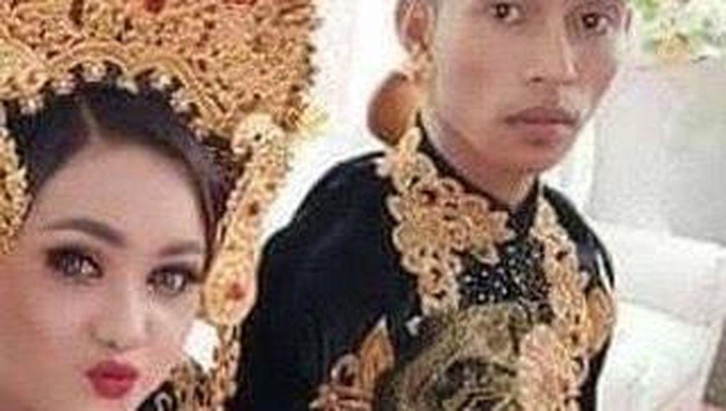 Pengantin Viral karena Pingsan Bertemu Mantan, Dituntut Suami Rp 50 Juta?