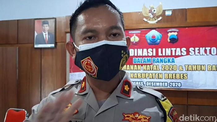 Wakapolres Brebes, Kompol Suryo Prabowo, Rabu (16/12/2020).