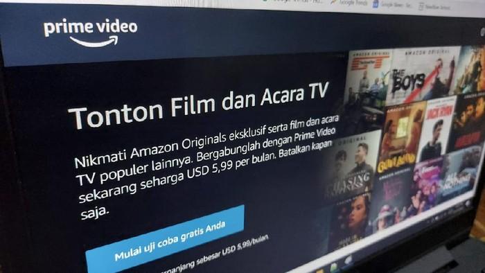 Layanan video streaming Amazon Prime Video