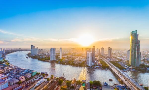 Bangkok di Thailand menempati posisi ke-13 sebagai kota tersehat. Kota ini memiliki ribuan tempat yang dapat digunakan untuk aktivitas outdoor. Foto: iStock