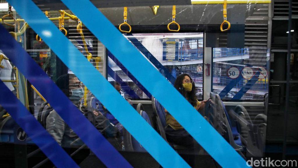 Hand Sanitizer di Bus Dicuri Penumpang, TransJ Akan Tambah Petugas Keamanan