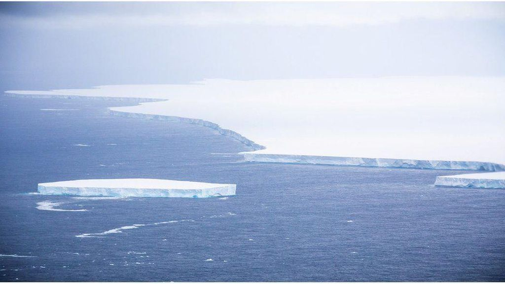 Bongkahan Es Raksasa Lebih Besar dari Luksemburg Dikhawatirkan Picu Bencana