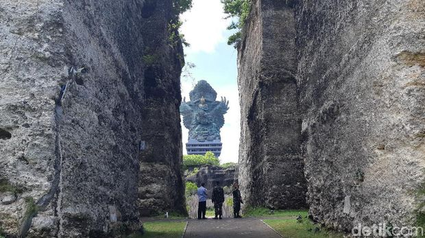 Garuda Wisnu Kencana, ikon Bali memang indah. Di tengah pandemi, seperti apa ya di sana?