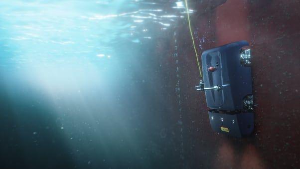 HullSkater, robot pembersih kerak lambung kapal