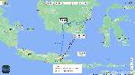 Potret Dedik Ngapung Mau Berlayar Balikpapan-Malang Pakai Galon