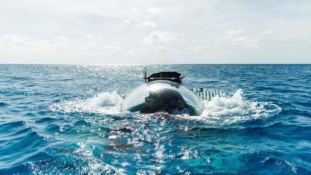 Kapal selam a Salon Under the Sea