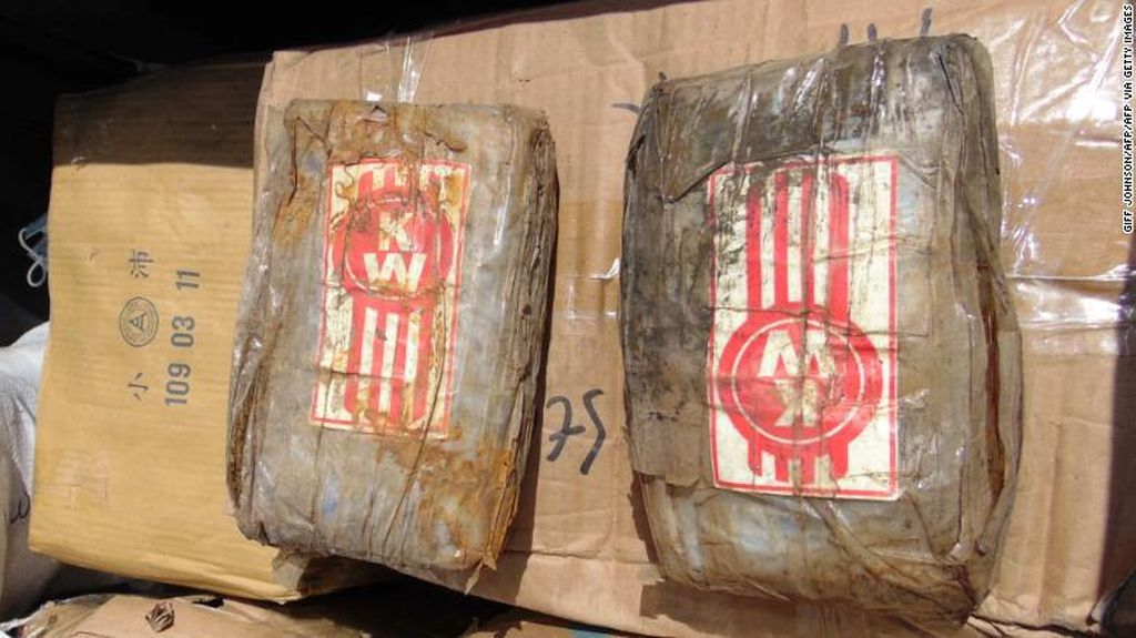Kapal Hantu Bawa 649 Kg Kokain Terdampar di Pulau Terpencil Pasifik