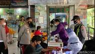 Kru Bus dan Penumpang di Terminal Bojonegoro Dites Urine dan Rapid Test