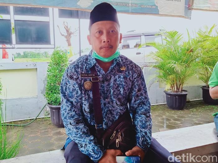 Zaenal Arifin, Kades Glodogan Kecamatan Klaten Selatan, Kamis (17/12/2020).
