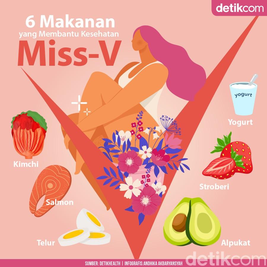 6 Makanan Ini Bisa Bikin Miss V Selalu Happy