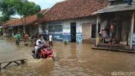 7 Kecamatan Terendam Banjir, Bupati Cirebon Tetapkan Tanggap Darurat Bencana