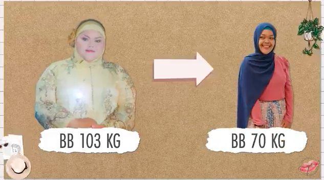Disebut Gajah Bengkak, Wanita Ini Terpacu Diet hingga Turun 43 Kg!