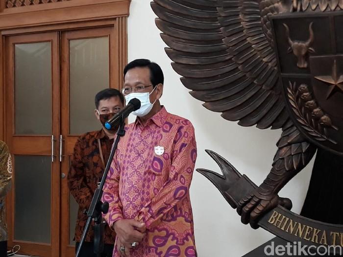 Gubernur DIY, Sri Sultan HB X, Yogyakarta, Jumat (18/12/2020).