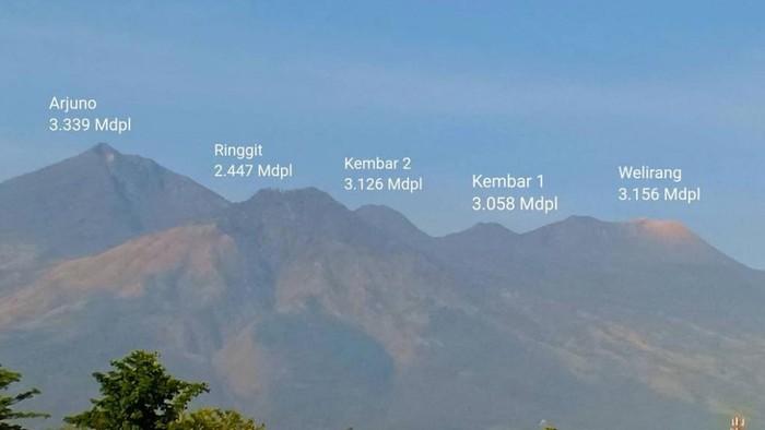 Gunung Arjuno-Welirang belum dibuka untuk pendakian karena cuaca ekstrem. Penutupan dilakukan sampai cuaca kembali kondusif.