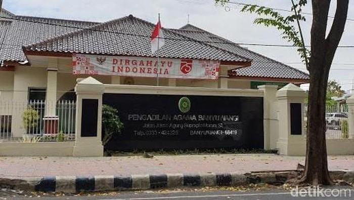 Pengadilan Agama (PA)Banyuwangi ditutup