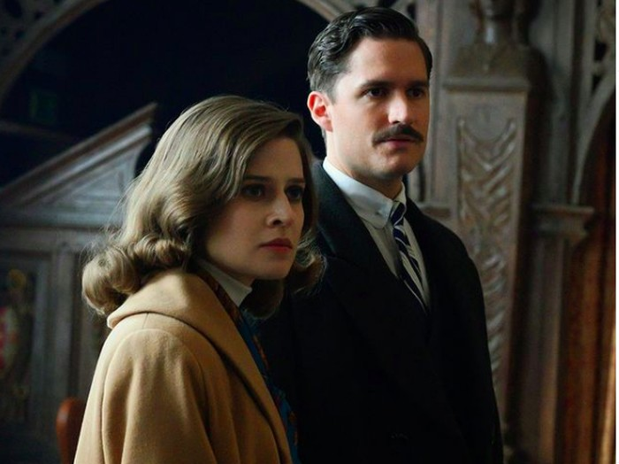 Ben Alridge and Emma Paetz in Pennyworth
