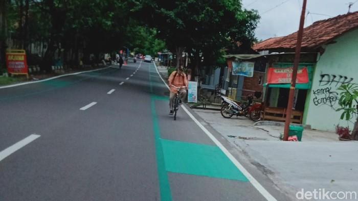 Jalur Sepeda di Kota Klaten