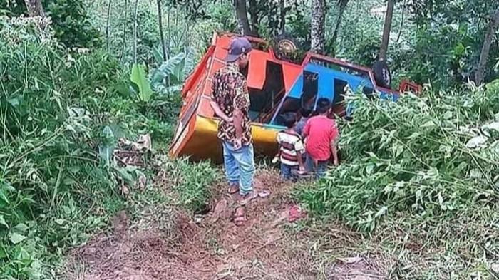 Kecelakaan odong-odong di Kabupaten Batang, Jumat (18/12/2020).