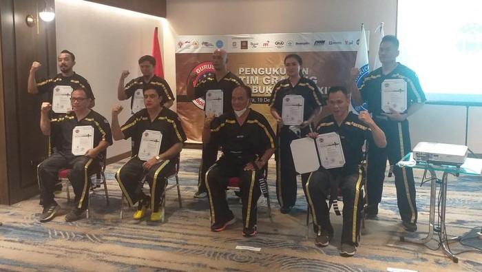 Tim Grading Kick Boxing akan bergerak meng-upgrade seluruh pelatih yang berada di kamp-kamp dan provinsi se-Indonesia.