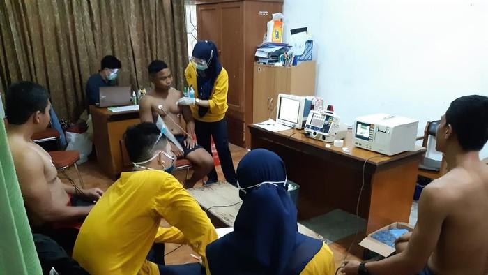 KONI Sulsel adakan tes fisik dan kesehatan untuk atlet PON Papua 2021