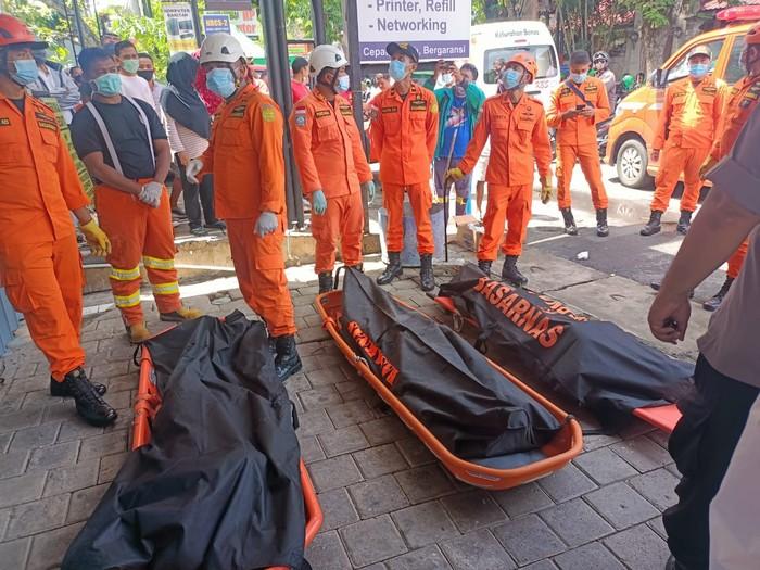 Korban kebocoran gas beracun di penyamakan kulit, Badung, Bali. (Dok Kapolsek Kuta Selatan)