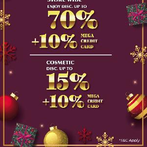 Metro Gelar Last Minute Shopping Jelang Natal, Diskon Hingga 70%