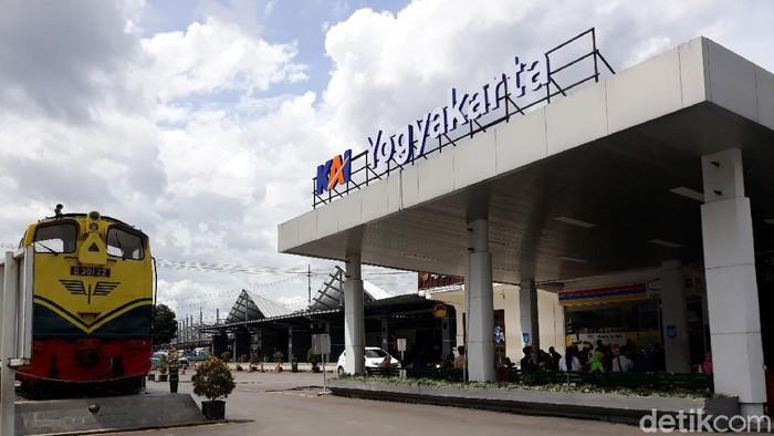 Stasiun Tugu Yogyakarta, Sabtu (19/12/2020).