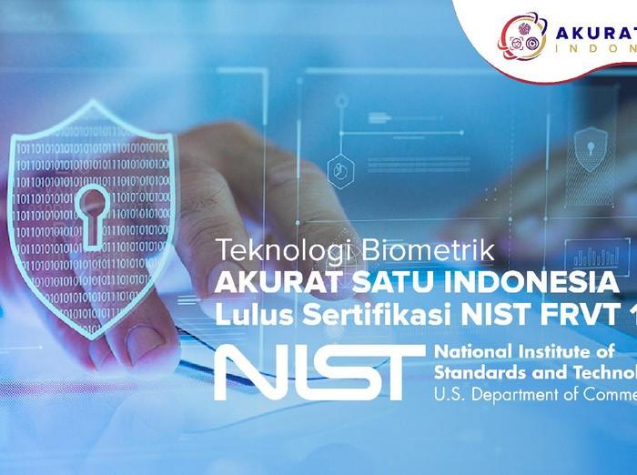 Startup biometrik Akurat Satu