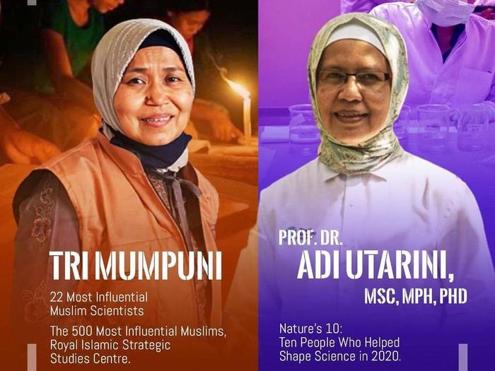 Ilmuwan Wanita Indonesia