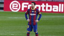 Lionel Messi Dihukum Larangan Bertanding di Dua Laga