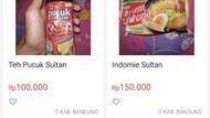 Mie Instan Sebungkus Rp 150 Ribu, Dijual Untuk Orang yang Kebanyakan Duit