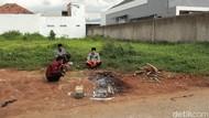 Penampakan Lokasi Pembunuhan Kusir Delman di Majalaya
