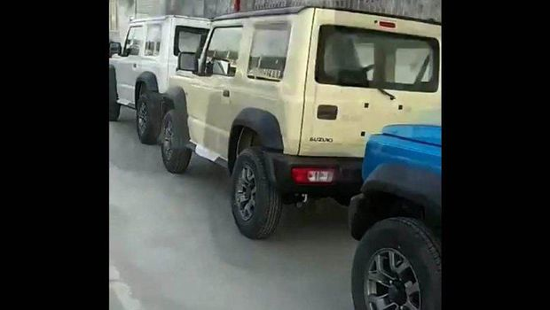 Suzuki Jimny mulai dirakit di India