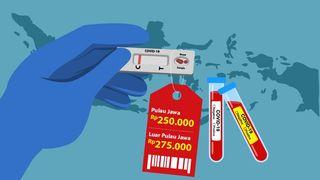Catat! Ini Batasan Tarif Tertinggi Rapid Test Antigen