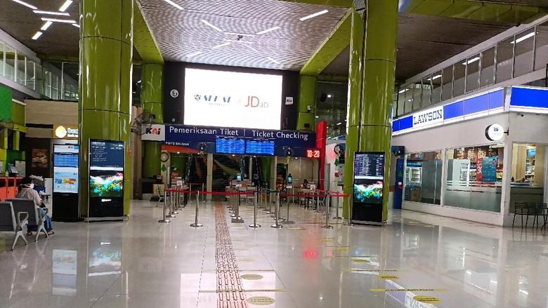 Stasiun Gambir (Foto: Karin/detikcom)
