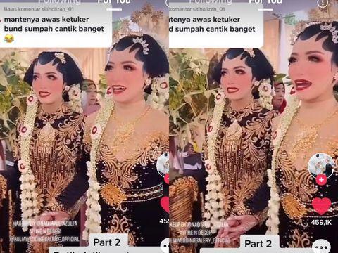 Saudara kembar Dwi Asmitasari (mitta) dan Eka Setiososari viral di TikTok. Dok. pribadi Mitta