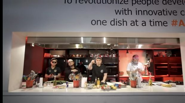 Adu Masak Chef Arnold, Bobon dan Tretan Muslim Jadi Trending Youtube