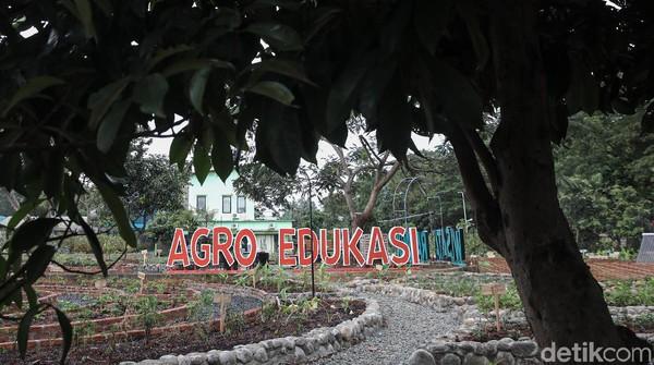 Pemerintah Provinsi DKI Jakarta melalui Dinas Ketahanan Pangan, Kelautan dan Pertanian mendirikan Agro Edukasi Wisata Ragunan.