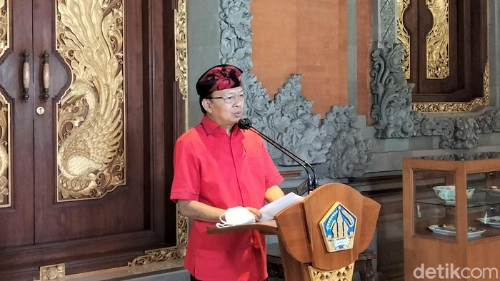 Gubernur Bali I Wayan Koster.
