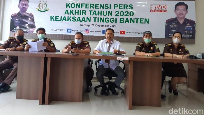 Kejati Banten beberkan sejumlah perkara yang ditangani sepanjang 2020