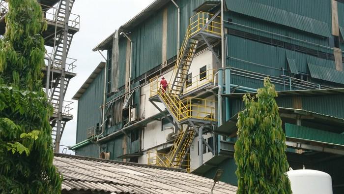 Ledakan di pabrik kimia di Cilegon, Banten