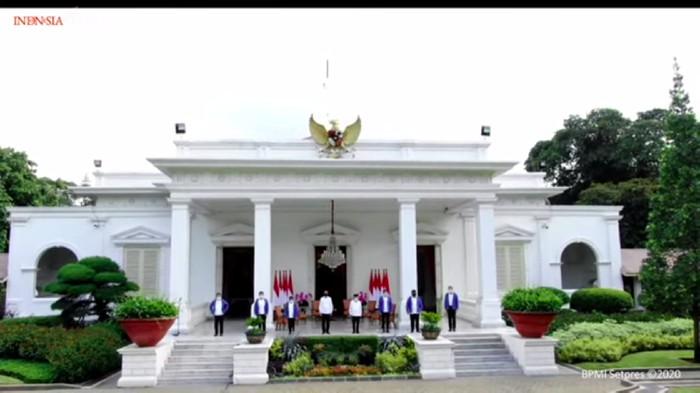 Perkenalan 6 menteri baru Kabinet Jokowi (Youtube Sekretariat Presiden)