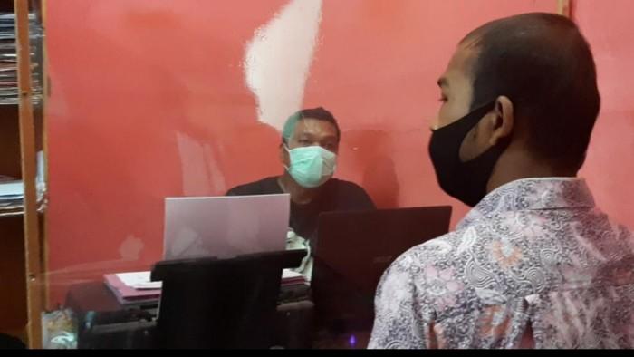 Pria di Riau ditangkap polisi gegara diduga curi pakaian dalam wanita (Dok. Istimewa)