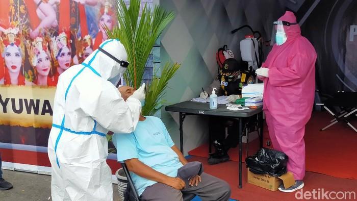 rapid test antigen di pelabuhan ketapang