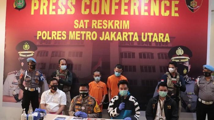 Rilis kasus Baim Wong Palsu (Dok. Polres Metro Jakpus)