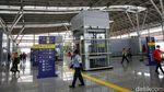 Wajah Modern Stasiun Jatinegara