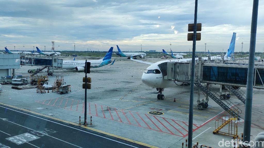 WNA Dilarang Masuk ke RI, Bagaimana Kondisi Bandara Soetta?