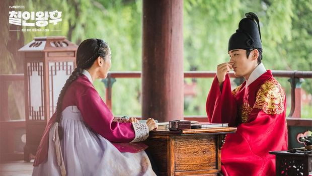 Behind the scene drama Korea Mr. Queen